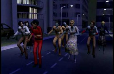 DERIVE MICHAEL JACKSON (Thriller version sims 2 (2) )