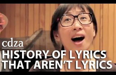HISTORY OF LYRICS THAT AREN'T LYRICS