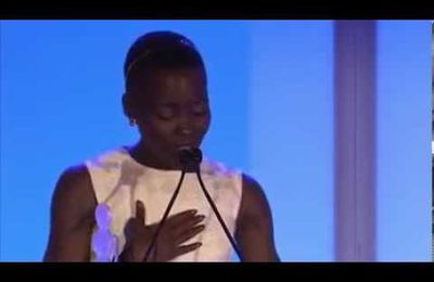 """Lupita Nyong'o Speech on Black Beauty Essence Magazine Black Women In Hollywood AwardA : Prowerful.message!!!...""""No matter where you're from, your dreams are valid..."""""""