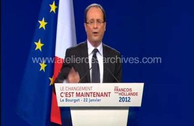 François Hollande et la finance...