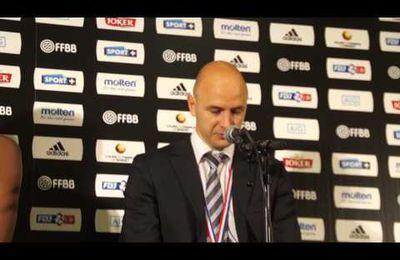 Coupe de France : Conférence de presse J. GOMIS-HALILOVIC & F. DUSART (Villeneuve)