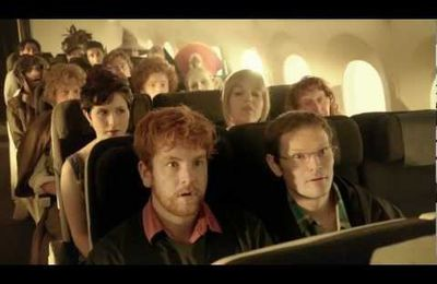 flight with hobbit characters