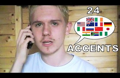 24 different accents