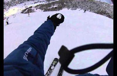 Sortie ski avec des amis