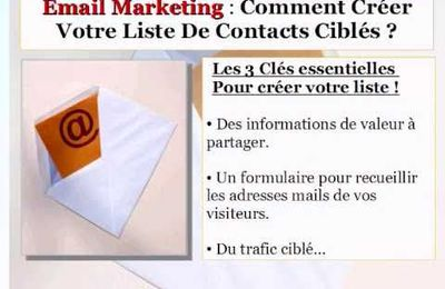 Mail Marketing : Comment créer une mailing list ?