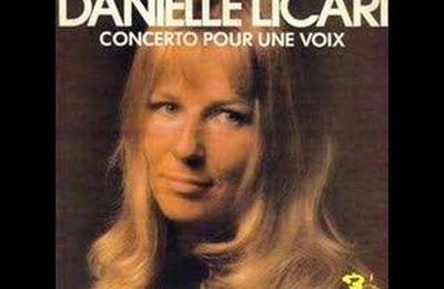 Concerto pour une voix - Saint preux - Danielle Licari versus Dalida