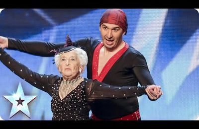 Britain's got talent: a spectacular salsa