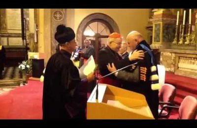 Le cardinal Laurent Monsengwo Pasinya fait Docteur Honoris