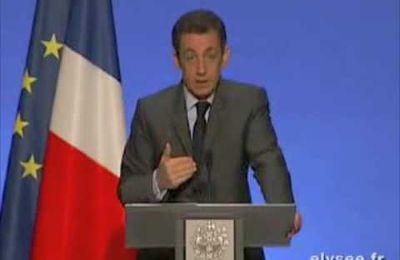 Au sujet du discours de Nicolas Sarkozy sur la recherche...