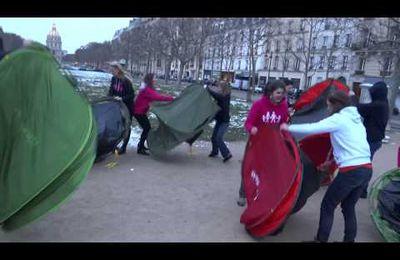 """Comment une partie de la """"Manif pour tous"""" a voulu occuper les Champs-Elysées"""