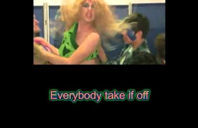 Karaoke - Kesha - Take it off (parodie)