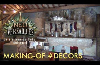 """""""Le Visiteur du Futur Saison 4 / Néo Versailles"""" Bonus DECORS"""