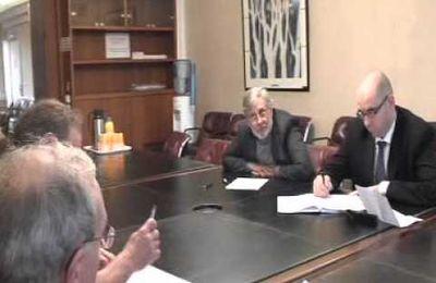 Action du 22 décembre 2011 au Conseil Régional Midi pyrénées.