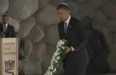 Video : Barack Obama à Yad Vashem en Israel