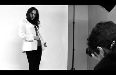 Making-of Olga Kuzma's Photoshoot (Idole Agency)
