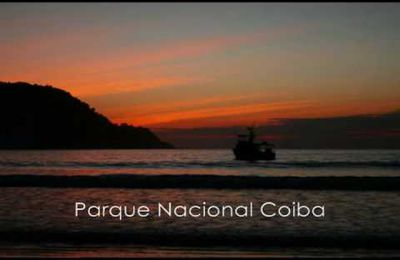 Google Earth : Parc national de Coiba (Panama)