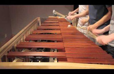 Le thème de jeu Zelda avec un Marimba