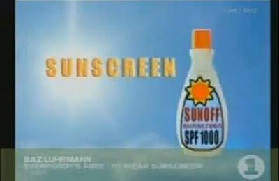 Everybody's free (to wear sunscream)