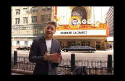 Bernard Lachance au Chicago Theatre