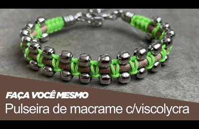 Bijoux au makramé en vidéo