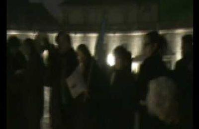 Rassemblement du collectif à Dijon vendredi 10/01/09