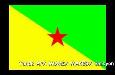 """TANDE POU KOUTE : """"Bi-Ya d'APA MUMIA MAKEBA"""" di 05/01/2015"""
