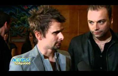 INTERVIEW : Muse, at the 2011 Grammy Awards.