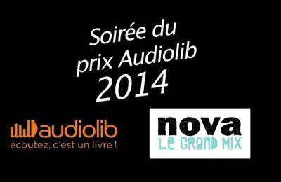 Remise du prix Audiolib 2014