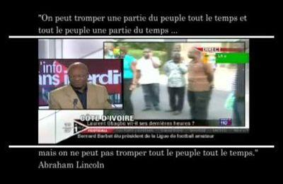 Le lynchage médiatique et diabolisation de Gbagbo qui a formaté les peuples d'occident.