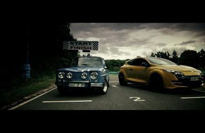 VIDEO: Renault 8 Gordini & Renault Megane RS