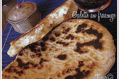 Galette fromage et épices