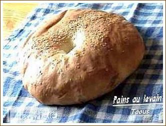 Pain au levain simple