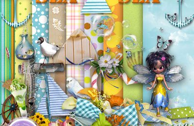 Les 3 ptintemps,collab Scrap'avenue