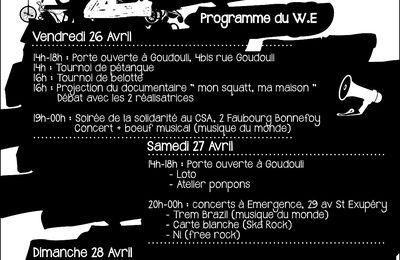 [Toulouse] Une semaine de grosse répression contre la CREA