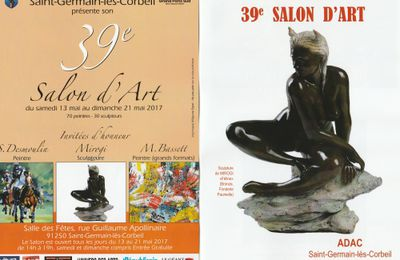 39ème salon d'art à Saint Germain les Corbeil