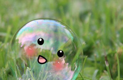 """Clic -clac . Qui a dit : """"Préservez cette bulle ..."""" ?"""