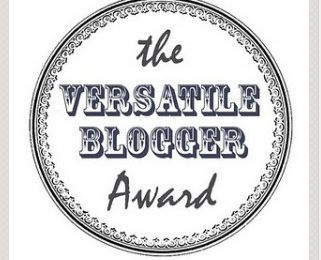 [TAG] The Versatile Blogger Award