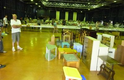 1 & 2 avril 2017 Brocante sociale et solidaire au profit du Burkina Faso - Hall Comminges, Colomiers