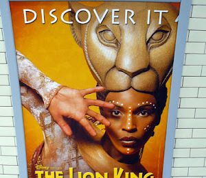 the lion king, la comédie musicale