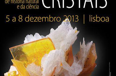 Feria internacional deminerales y fósiles en Lisboa