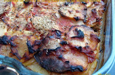 Pommes de terre à la Hongroise sur lit de viande hachée