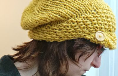 12 hats in a year : #5 Aralynn Slouchy