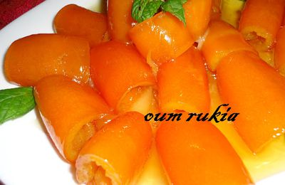 Confiture peau d'orange, douceur Turque