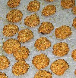 Biscuits d'apéritif aux cèpes
