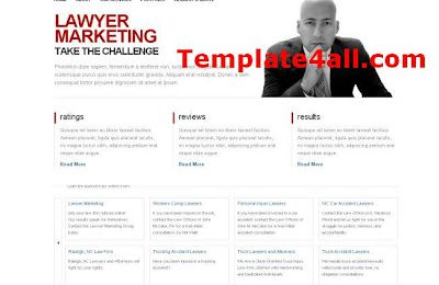 Free Lawyer Business HTML Website Template