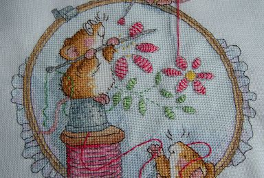 Margaret Sherry - Stitch in time - finie