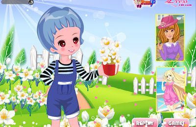 Dress up Games, the World's Games for Girls and Children