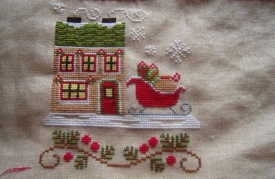 Country Cottage Needleworks - Santa's Sleighworks (9)