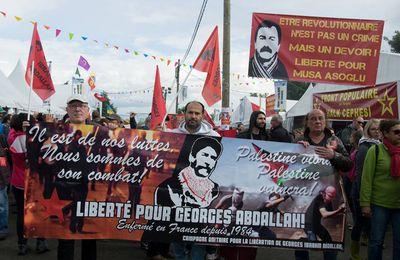 Fête de l'Huma : pour Georges Abdallah