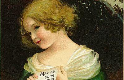 De jolies cartes anciennes de Noël.